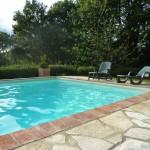 Enjoy the salt water swimming pool