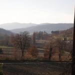 Autumn in Cortona valley